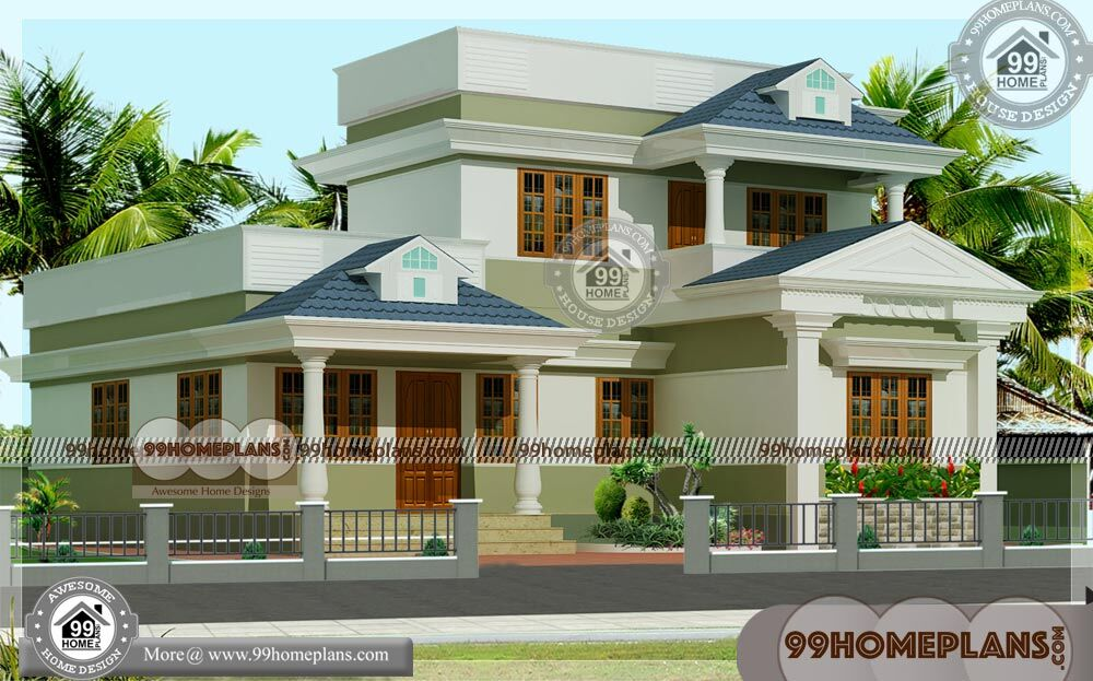 New Small Home Plans & Double Storey Homes Plans Modern Designs