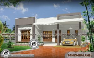 One Floor Homes New Design Home Plans 100+ Low Cost Modern House