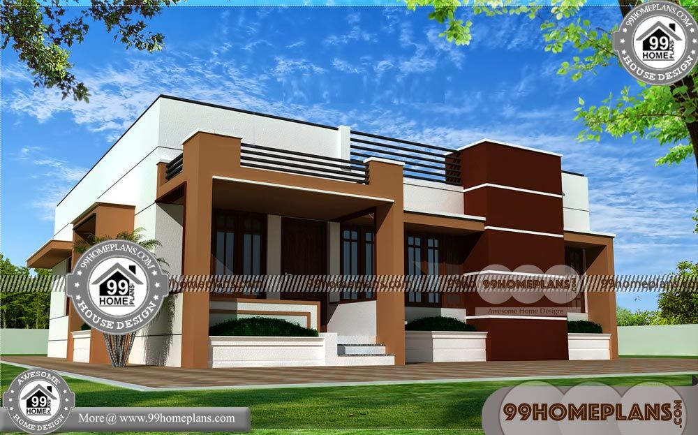 One Floor House Design Plans 75+ Luxury Contemporary Home Plans