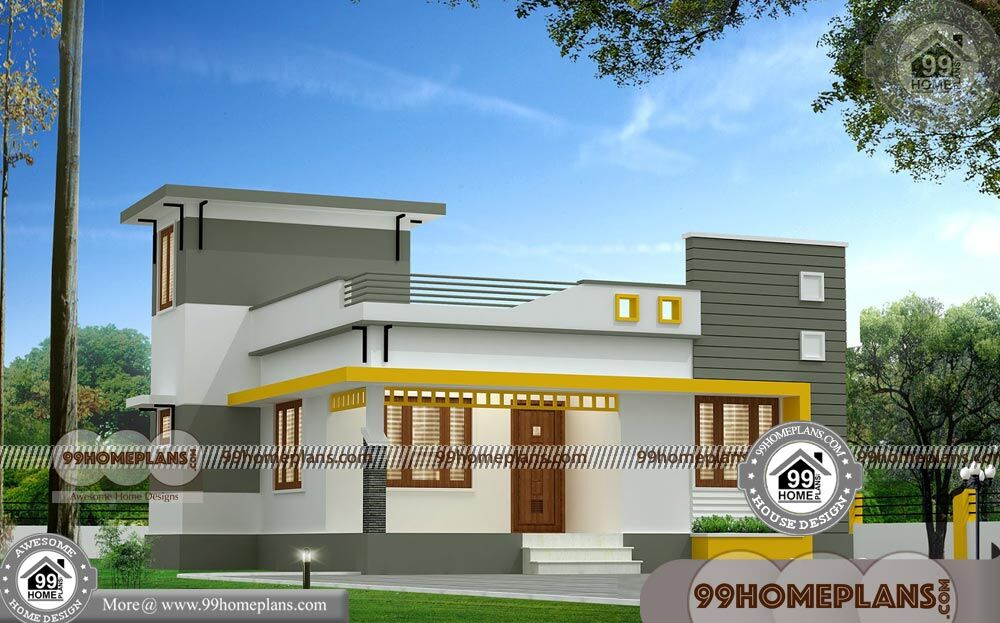 One Floor House Plans Designs 65+ Latest Contemporary House Designs