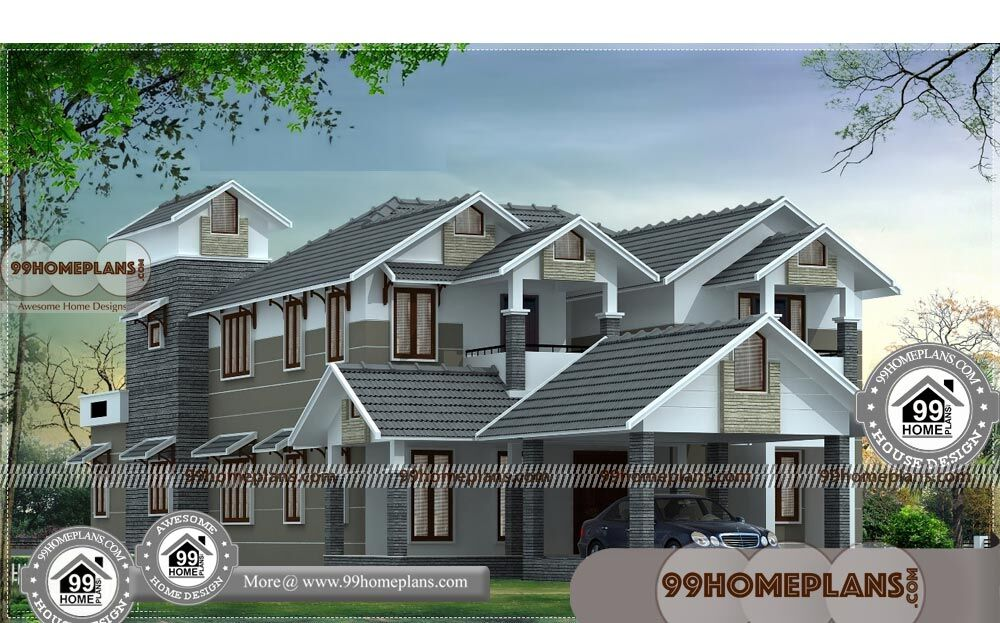 Online Architecture Design with Double Story Homes | 345+ Modern Plans