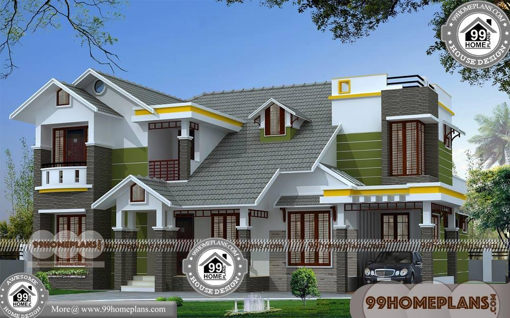 Simple Affordable House Plans 60+ Indian House Designs Double Floor