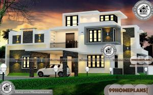 Simple Bungalow House 75+ Double Floor Home Design Plans Collections