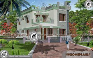 Simple Front Elevation Of House Design | 60+ Modern 2 Storey Homes