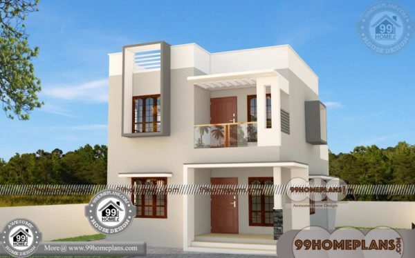 Simple Home Plans 100+ Two Floor House & 50+ Low Cost Home Design