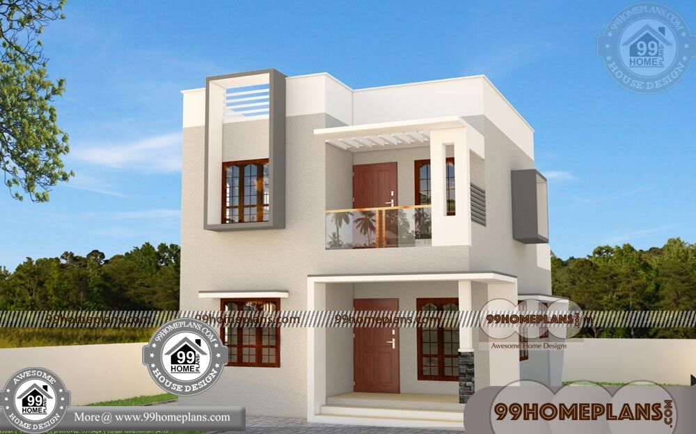 Simple home plans 100 two floor house 50 low cost home - Make your house a home ...