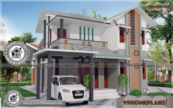 Simple House Model Designs 90 2 Storey House Design With Terrace