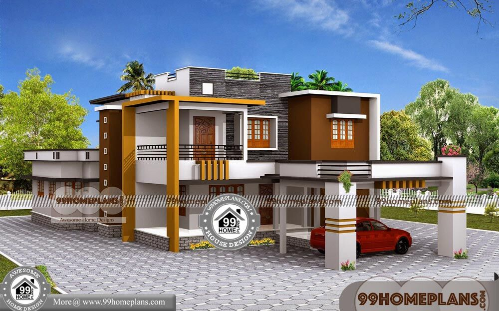 simple low cost house design 90 small house design two storey - 40+ Low Cost Small Two Storey House Plans With Balcony Background