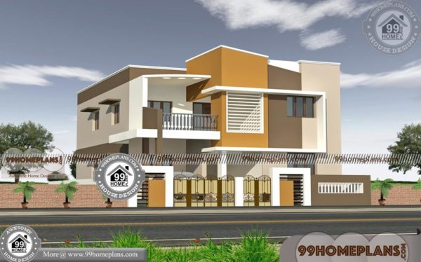 Front Elevation Design Tool : Simple modern house with d front elevation design