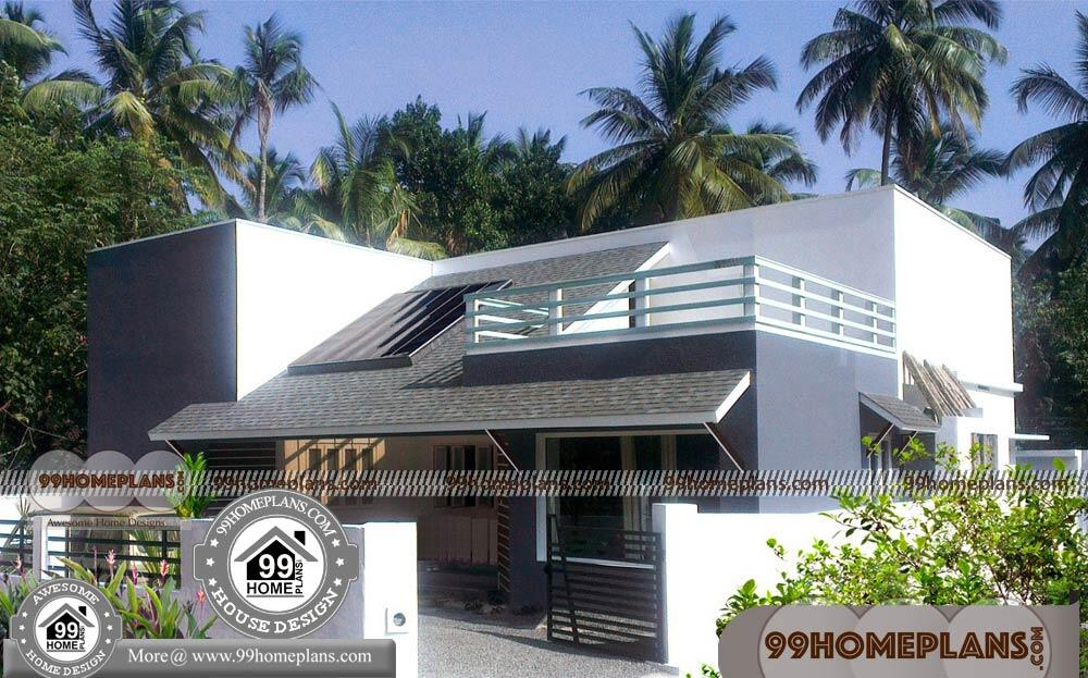 Simple One Floor House Designs 90+ Contemporary Narrow Lot House