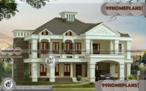 Small Bungalow Style House Plans | 500+ Modern Double Story House