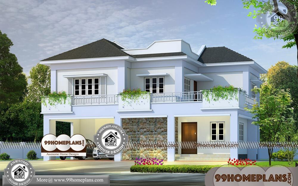 Small House Model Design 70+ Two Storey Modern House Plans Designs