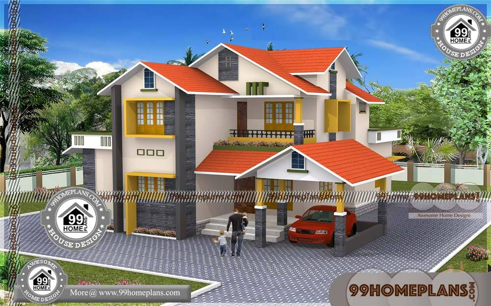 Small House Plans and Cost 68+ 4 Bedroom 2 Story House Plans & Ideas
