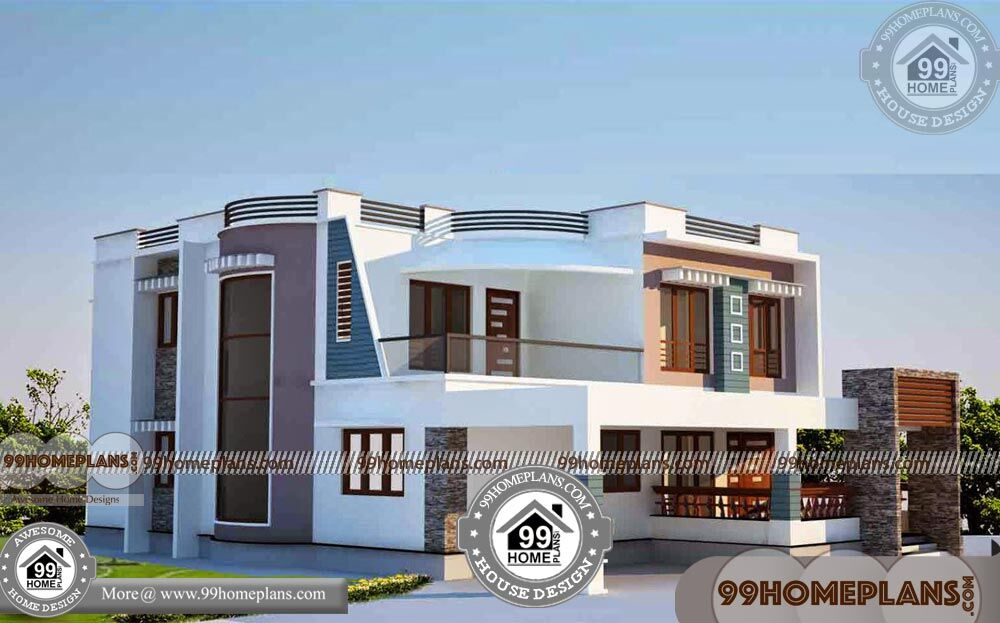 Small House Plans in Kerala Style 90+ Two Floor House Plans Online