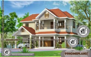 Small Indian House Images 80+ 2 Story House With Balcony Plan Ideas