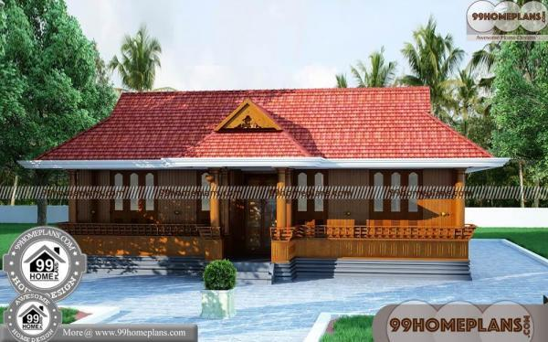 Small Nalukettu House Plans & 80+ Single Story Home Floor Collections