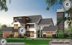 South East Facing House Vastu Plan with Kerala House Design Collections