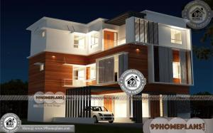 Three Story House Plans Narrow Lot 80+ 3 Storey Villa Designs Online