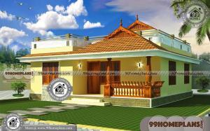 Traditional Single Storey House Designs | 70 Contemporary Kerala Homes