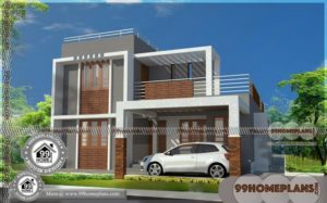Two Storey Designs 90+ Small Affordable House Plans Modern Collections