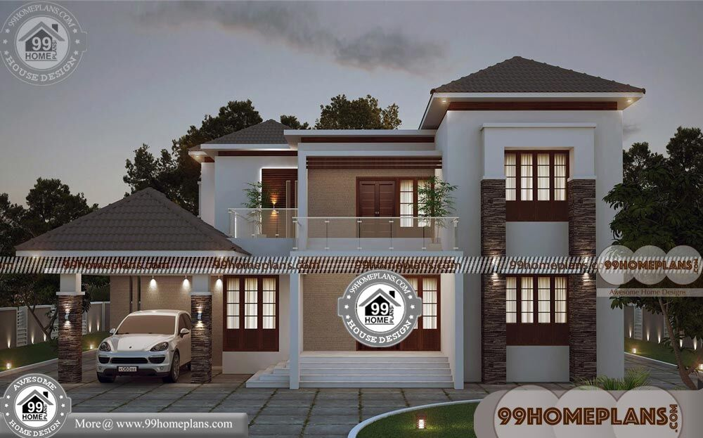 Two storey homes with balcony 45 contemporary house - What is a contemporary home ...