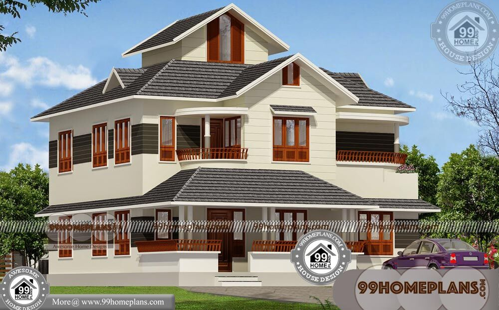 two storey villa design 80 kerala traditional house
