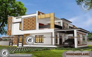 Types of House Plans 75+ Two Storied House Plans Modern Collections