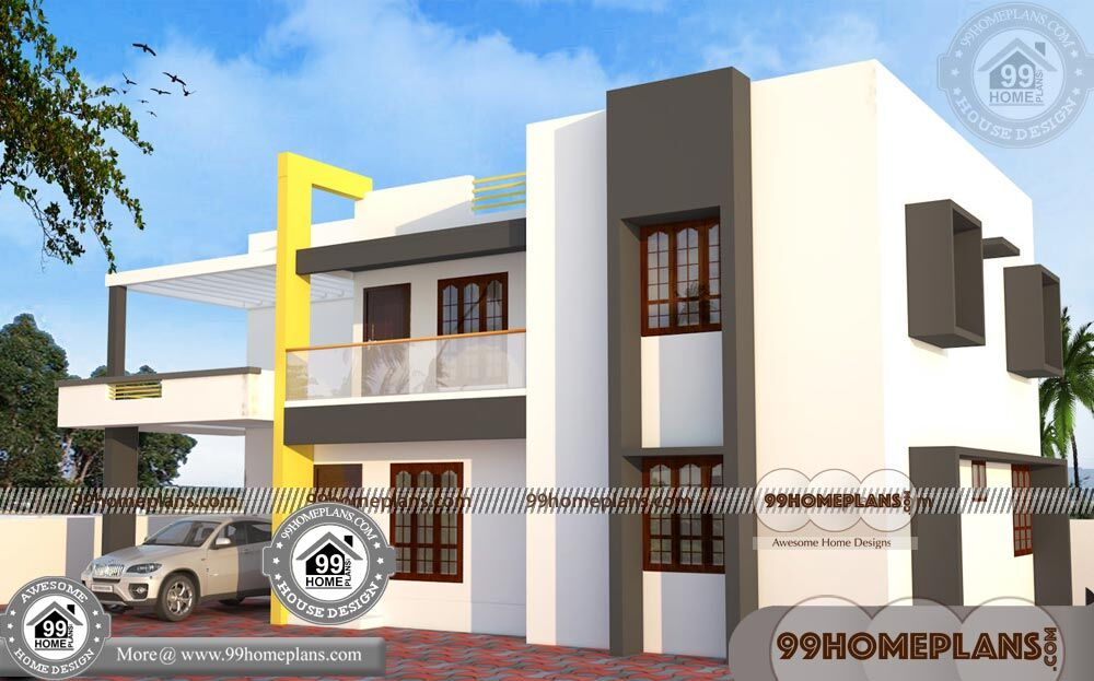 Ultra Modern House Floor Plans 60+ Double Storey House Elevation Plans