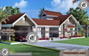 Villa Elevation Designs with New Indian Home Design | 50+ Modern Plans