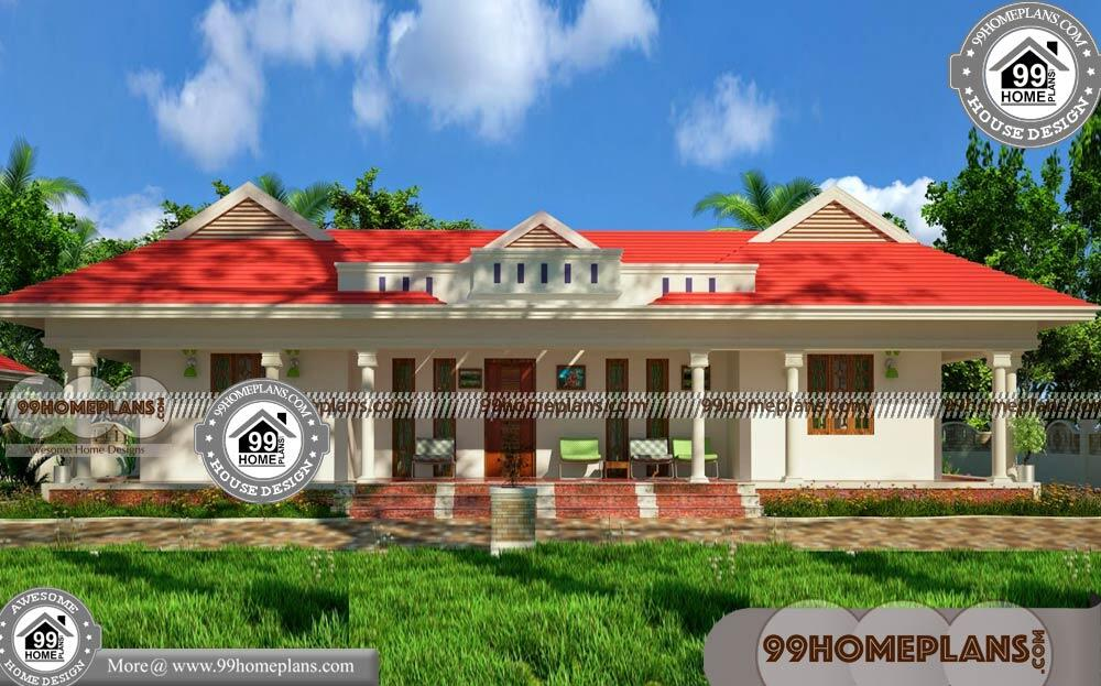 1 Floor House Plans 3 Bedroom 80 Simple Low Cost House