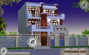 3 Story Home Plans 80+ Modern Box Type House Design Stylish Ideas