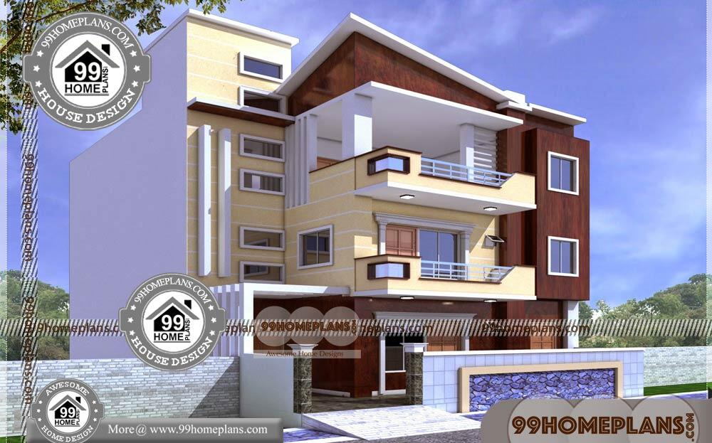 3 Story House Plans Small Footprint 80+ Simple Beautiful