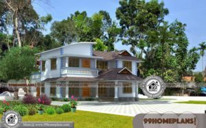 3D Elevation of Duplex House 60+ Latest Two Storey House Design Plans