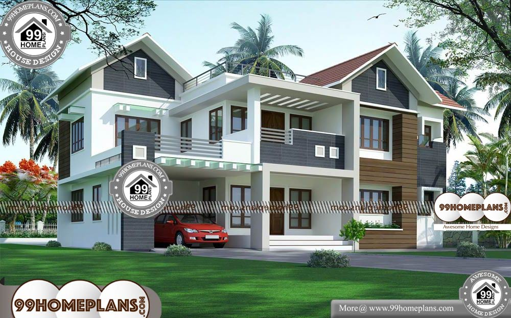 Architecture Home Design - 2 Story 2984 sqft-Home