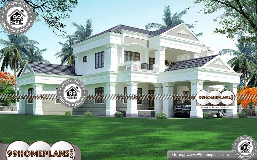 Bungalow Design Modern - 2 Story 3119 sqft-Home