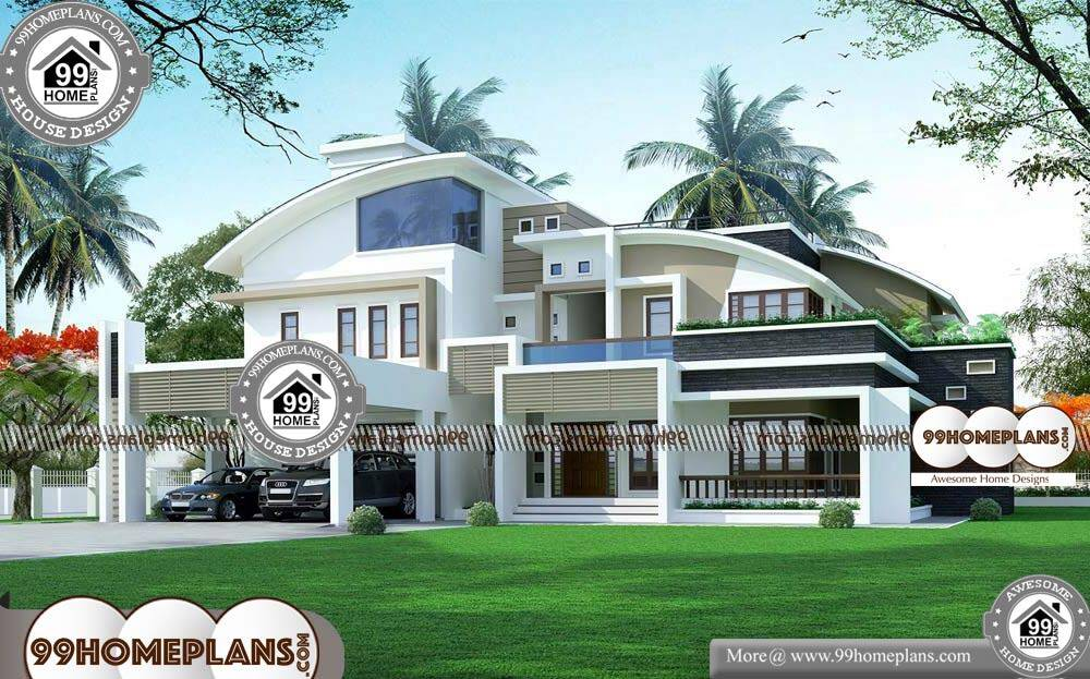 Free Indian Home Plans and Designs - 2 Story 4946 sqft-HOME