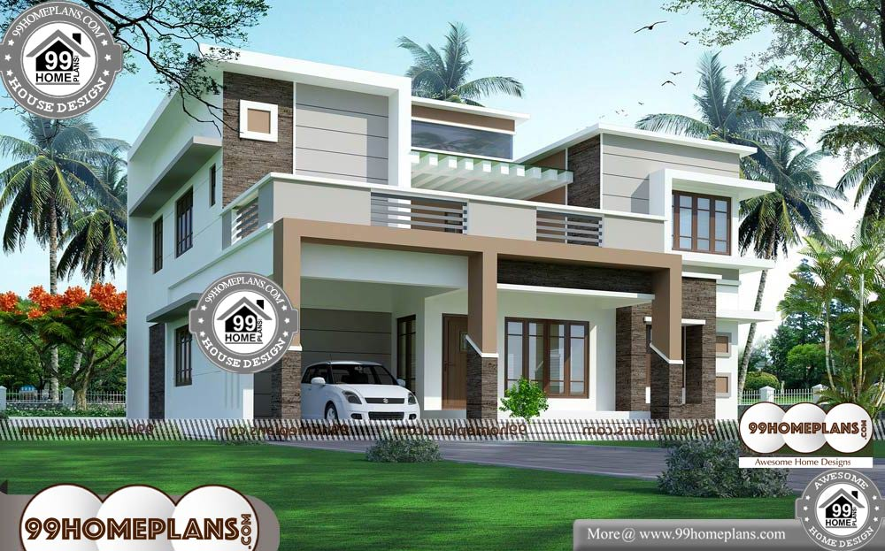 Home Design Architecture - 2 Story 3050 sqft-Home