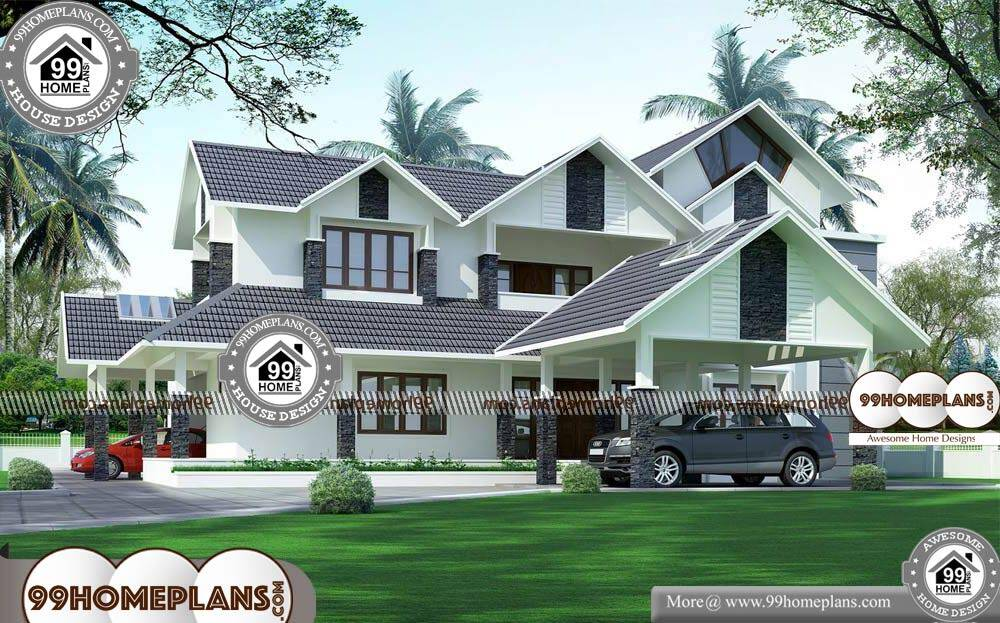Home Design in Indian Style - 2 Story 4370 sqft-HOME