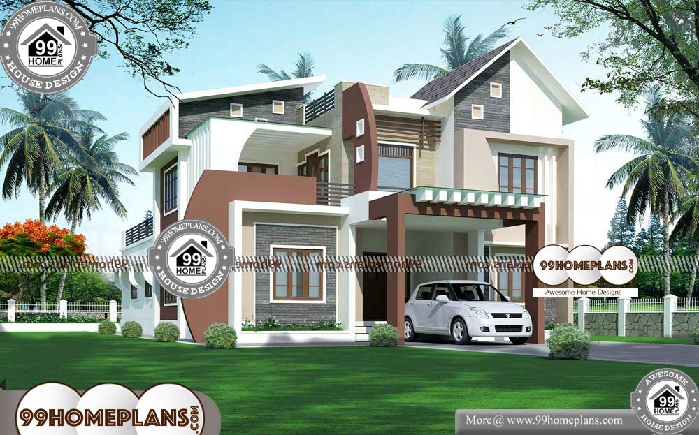 Home Design with Floor Plan - 2 Story 3739 sqft-Home