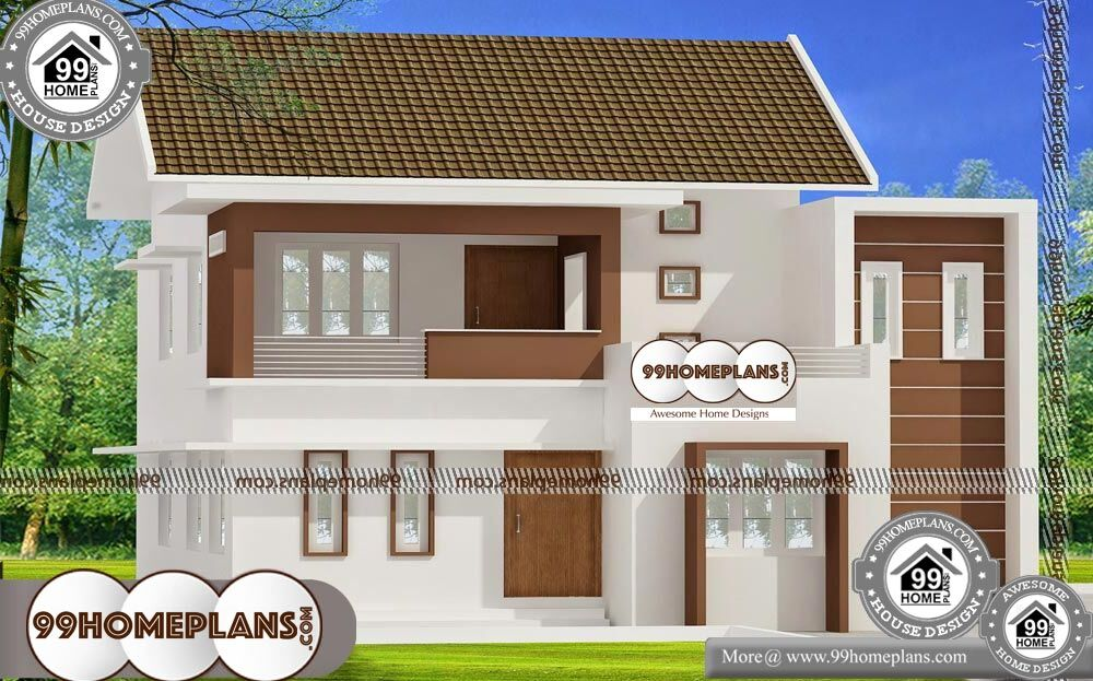 Home Plans with Prices - 2 Story 1750 sqft-HOME