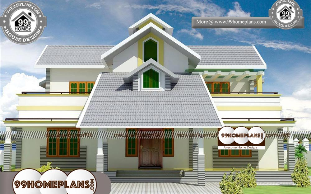 House Elevation Styles - 2 Story 2300 sqft-Home