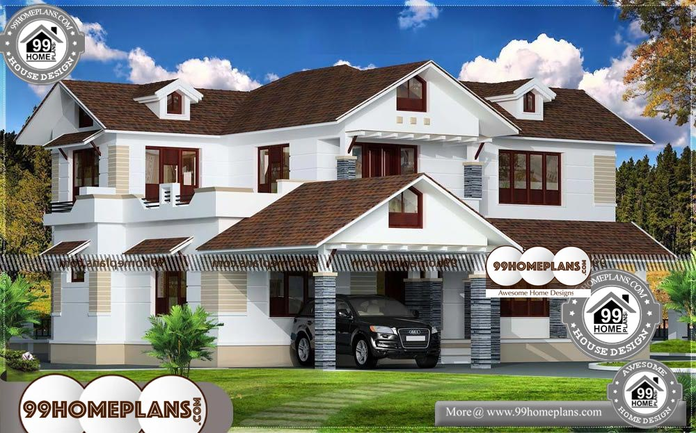 House Ideas Design Collections 90 Two Storey Terrace House Designs