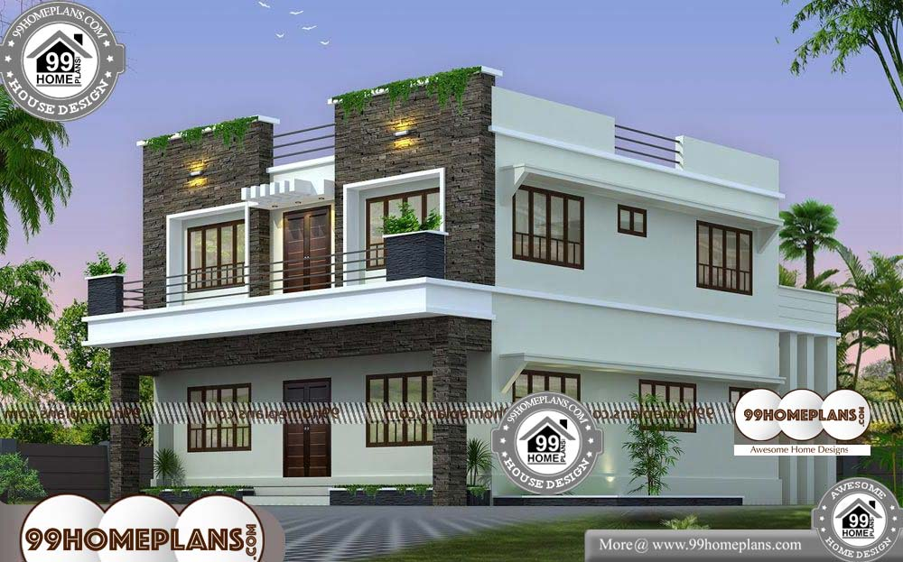 Indian House Plan Designs Free - 2 Story 2506 sqft-Home
