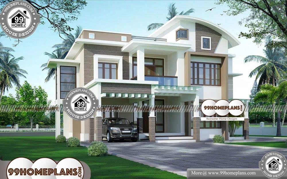 Indian Style Home Plans - 2 Story 3311 sqft-HOME