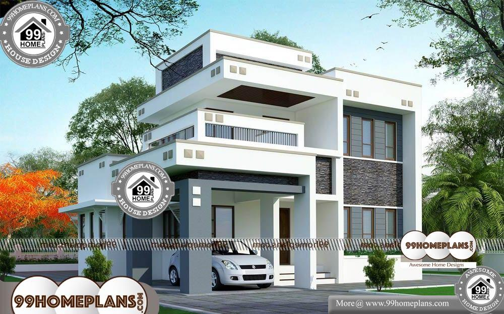 Luxury House Plans for Sale - 2 Story 1800 sqft-HOME