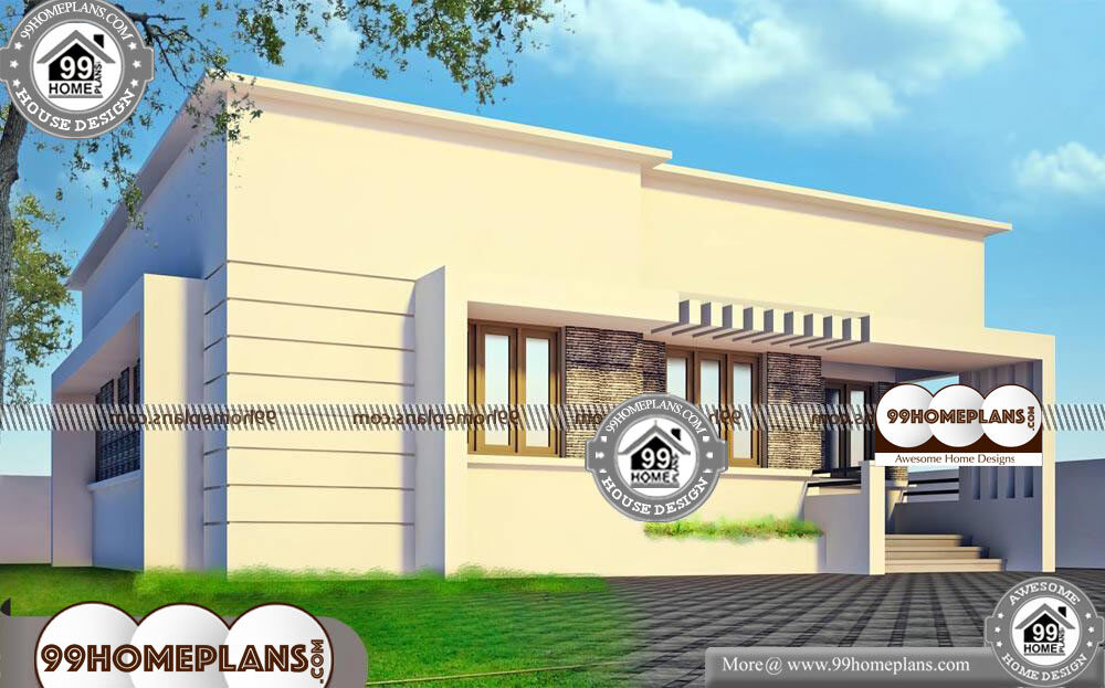 Luxury One Story Floor Plans - One Story 1180 sqft- HOME