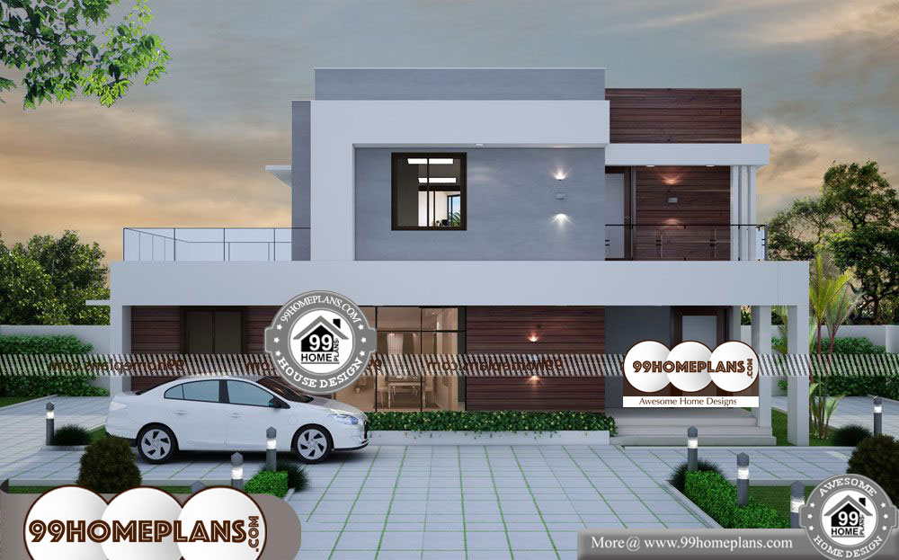 Modern Low Cost House Designs 60+ Cheap Double Story Homes ...