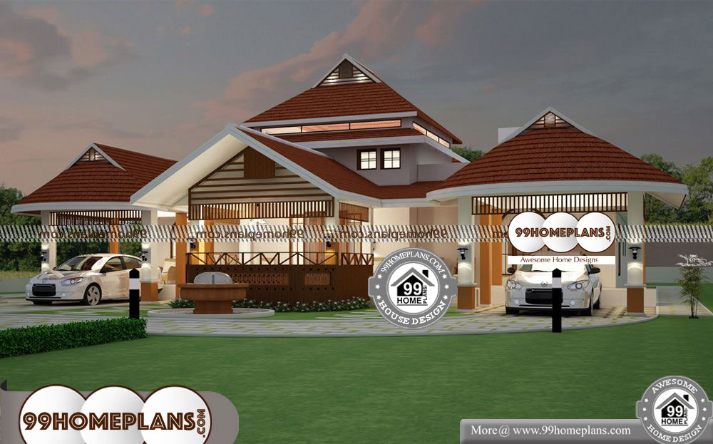 New One Story House Plans - One Story 3200 sqft-Home