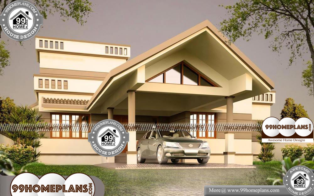 One Story with Loft House Plans - One Story 1800 sqft-Home