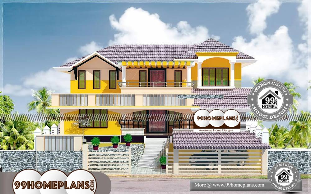 Simple House Elevation Models - 2 Story 2900 sqft-Home